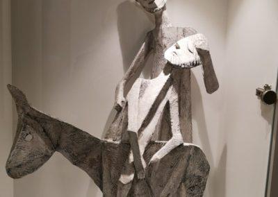 Skulptur des barmherzigen Samariters