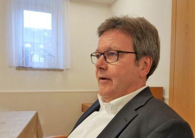 Gemeinsames Mittagessen mit meinem Vorstandskollegen Stefan Warnke.